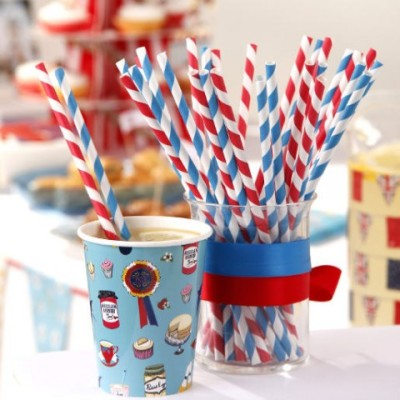 Fancy Bio-Straws. (via Straws)