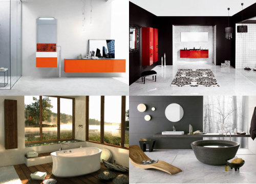 10 Amazing BathroomsHappy Thursday! Here you have different amazing bathrooms for some inspiration. More info and pictures!