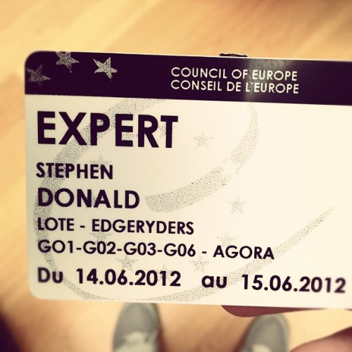 EXPERT (Taken with Instagram at Conseil de l'Europe)