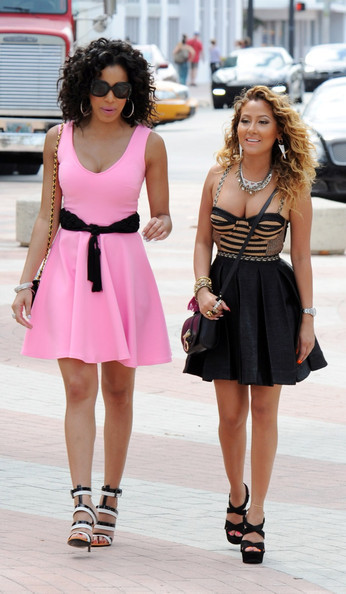 hu-lee-on25:  Adrienne Bailon & Julissa Bermudez