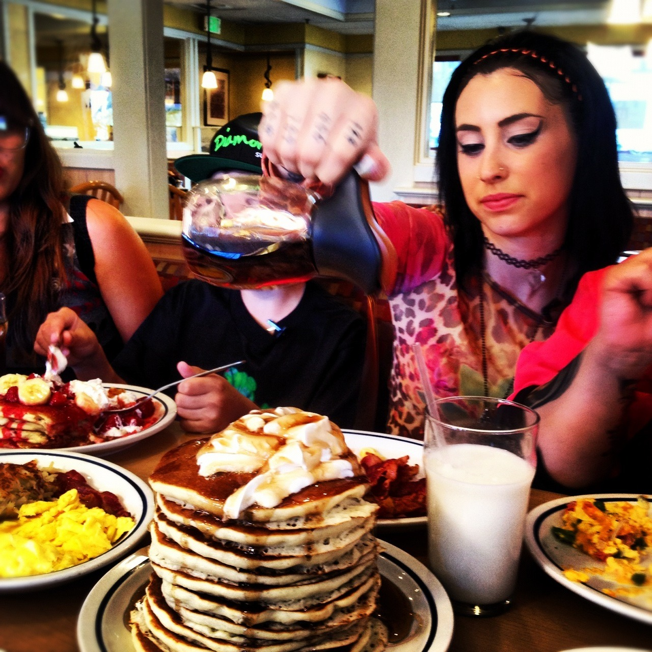 #Storyboard behind-the-scenes: breakfast with Kreayshawn.