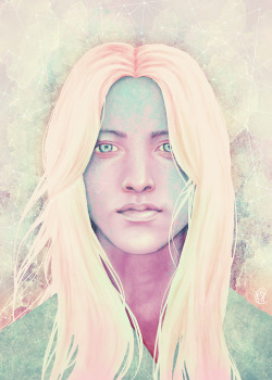"My Asteria print is up on Society6! http://society6.com/KatieSanvick/Asteria_Print ""Asteria was the Titan Goddess of the oracles and prophecies of night, including prophetic dreams, the reading of the stars, and necromancy."" I did a two part series of these star gods, i liked it so much i might do more!"