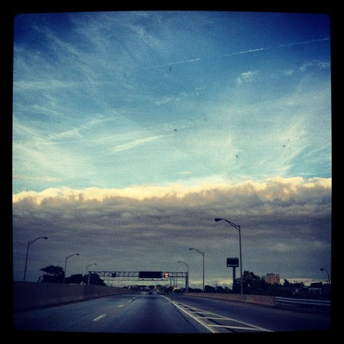 Front. #clouds (Taken with Instagram)