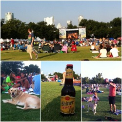 Blues on the green. If you know anything about the city of Austin, you'd know that it is - and will be - inevitable to run into live music. We are the Live Music Capital of the World! Blues on the green offers a FREE concert every other Wednesday of the summer like they have been for 22 years. It's located at Austins favorite Zilker Park. A place where you can truly experience the broad range of towns people and why they say Keep Austin Weird. Pets are welcome and just about anything goes here. Blues on the green offers many artist like Charlie Mars to Rhett Miller. undoubtably a must see, given the time of year. -O.G