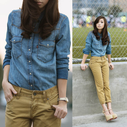 Blue Jeans (by Kryz Uy)
