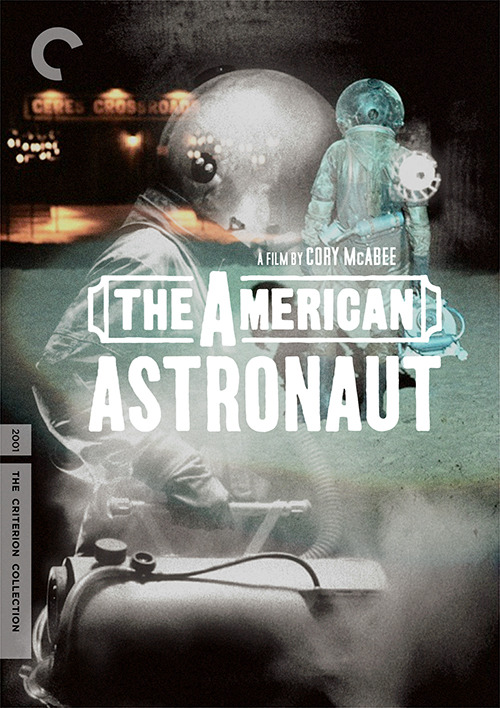 So I decided to make some fake Criterion covers for fun/design practice. #1 - The American Astronaut, 2001, Cory McAbee