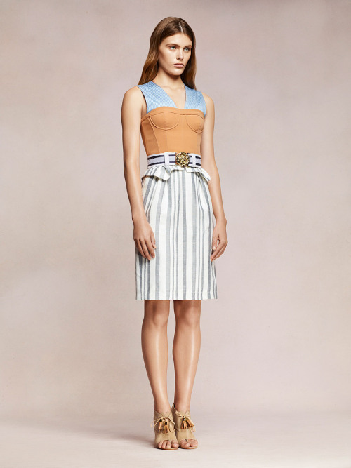 vogue:  Altuzarra Resort 2013 Photo: Courtesy of Altuzarra  Visit Vogue.com for the full collection and review.