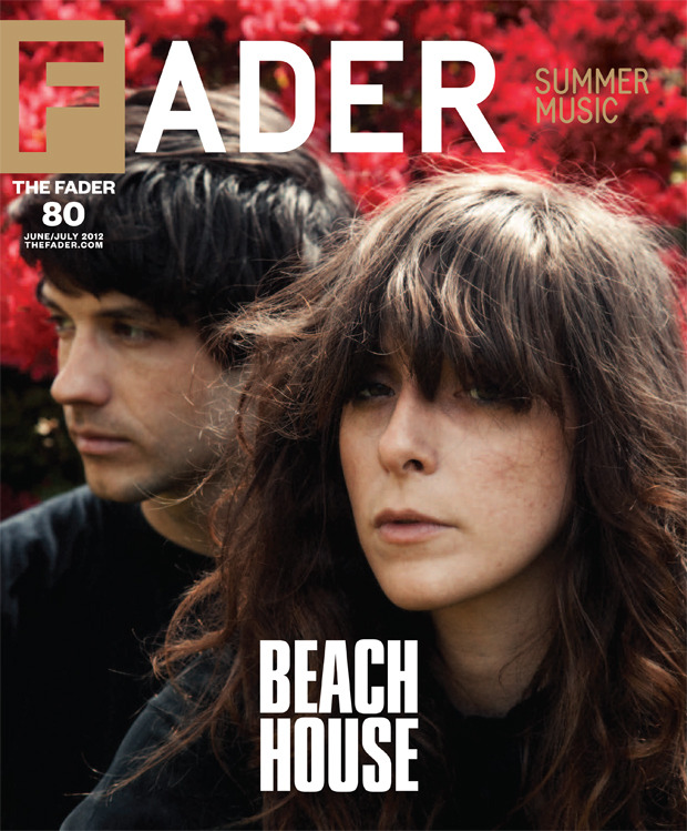 thefader:  WORLD PREMIERE BEACH HOUSE FADER #80 COVER STORY