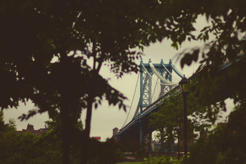 "johnnylacephotography:  ""Manhattan Bridge"" by JohnnyLace"