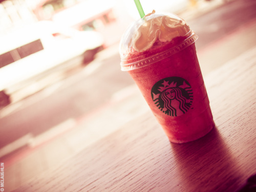 Strawberry Cheesecake Frappuccino