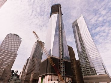 wnyc:  President Barack Obama will visit 1 World Trade Center on Thursday for a preview of the topping-out ceremony. Take a look back at the construction of the city's tallest building with our virtual tour.