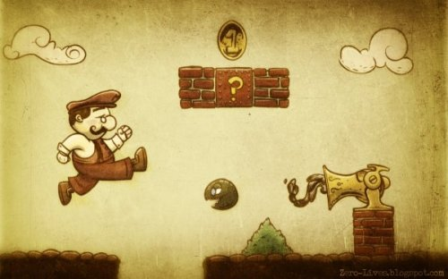 Victorian Mario Bros. Beware of Musket Ammunition William!