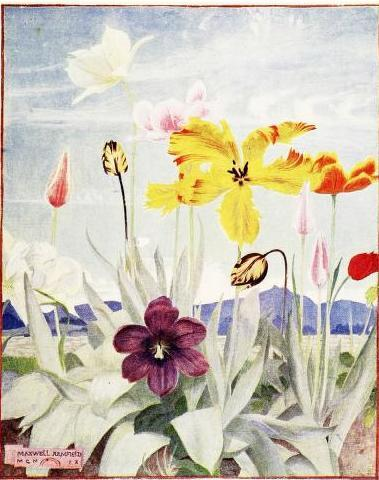 Maxwell Armfield, The flower book (1910)
