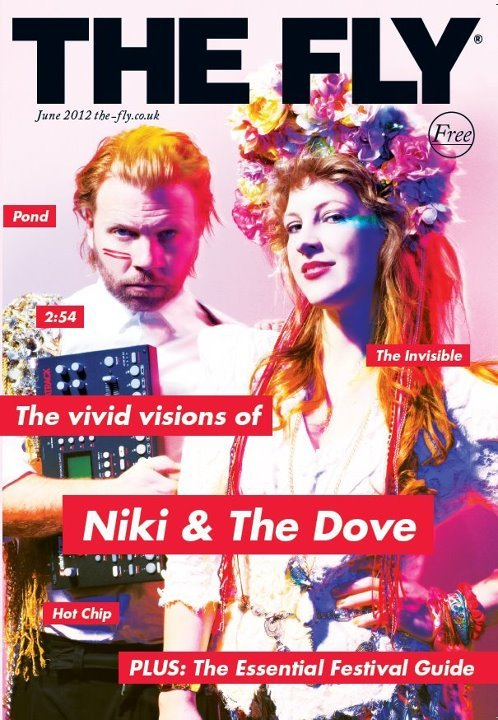 Niki and the Dove @ Fly Magazine Poster