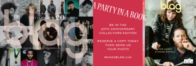 2012 | BLAG Party In A Book Be in the 20th Anniversary Collectors Edition Reserve a copy today  Then send us a photo WeAreBLAG.com