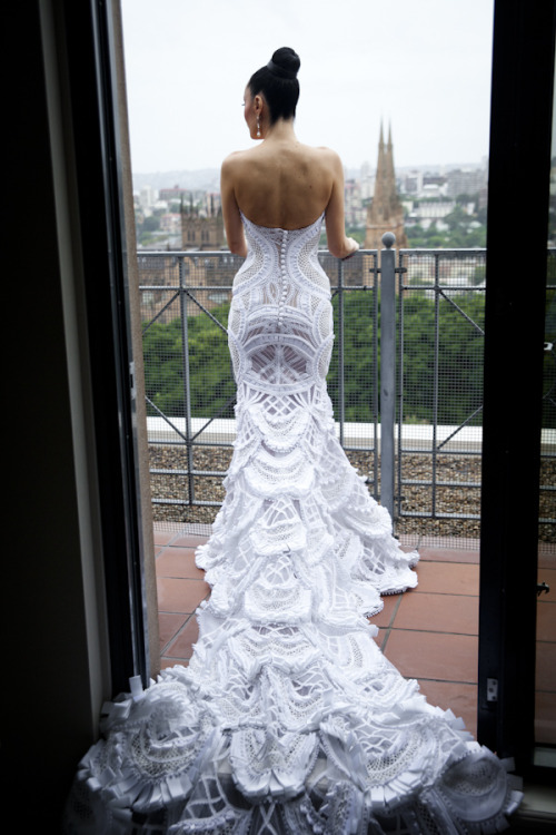 Whoa.. second wedding dress option.