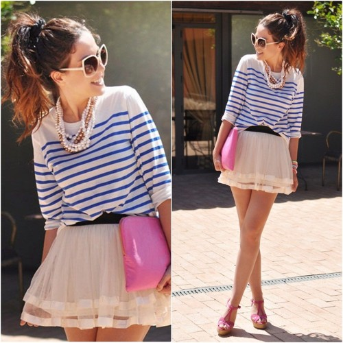 Chic Stripes (by Crris LoveShoppingandFashion)