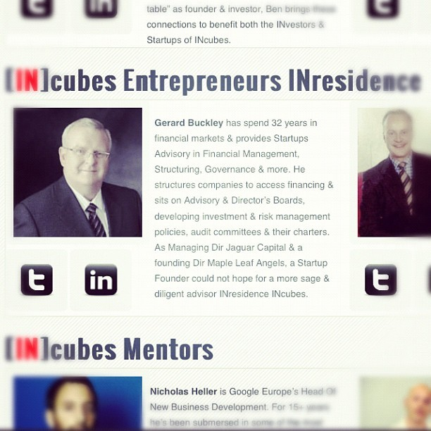 INtensive Day 01, INtake 02 will be launched by @INcubes Entrepreneur INresidence @GerardBuckley Of Canada's largest Angel Investment Network Maple Leaf Angels & Jaguar Capital. Gerard is the ultimate INhouse Financial Mentorship for #INternet #Startups