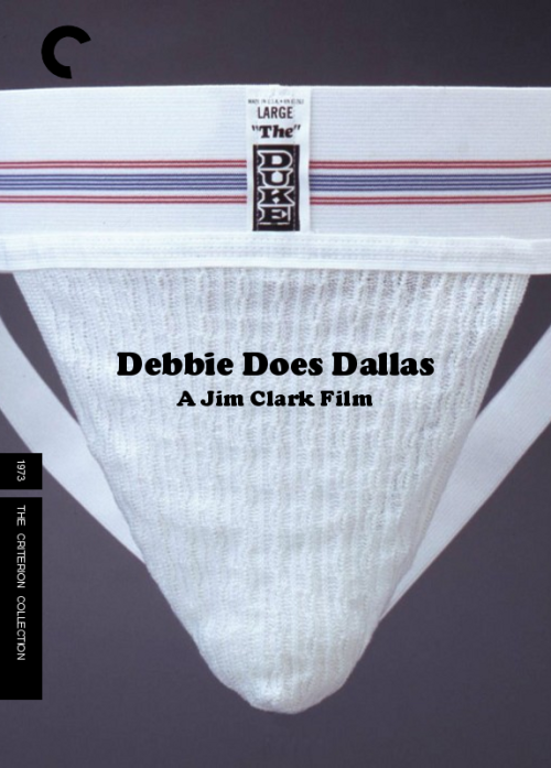 Fake Criterion for Debbie Does Dallas (Jim Clark, 1973) requested by @shonrichards