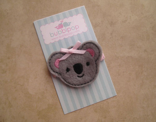 cutesybabiesandgirlythings:  Koala Bear Clip