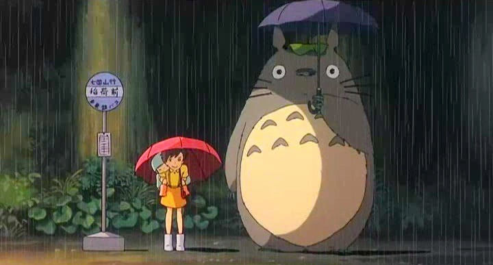 My Neighbor Totoro (1988) (Japanese: となりのトトロ / Tonari no Totoro)