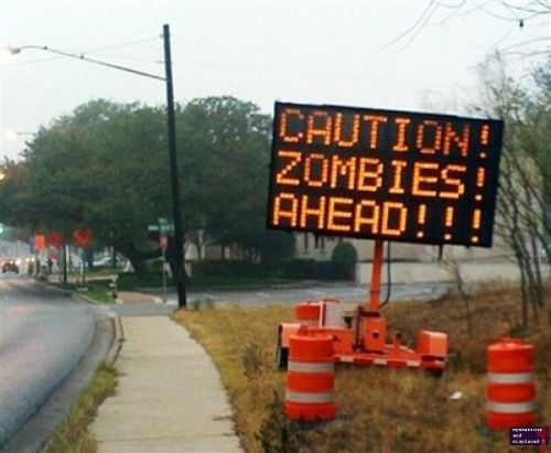 Caution Zombies Ahead!!!