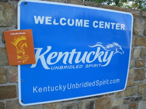 Ha! Kentucky loves Unbridled Books!