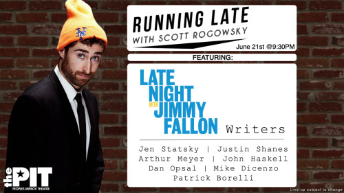 NEW SHOW NEXT THURSDAY with JIMMY FALLON WRITERS!!!