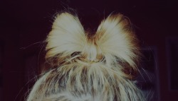 today's little hair bow :)