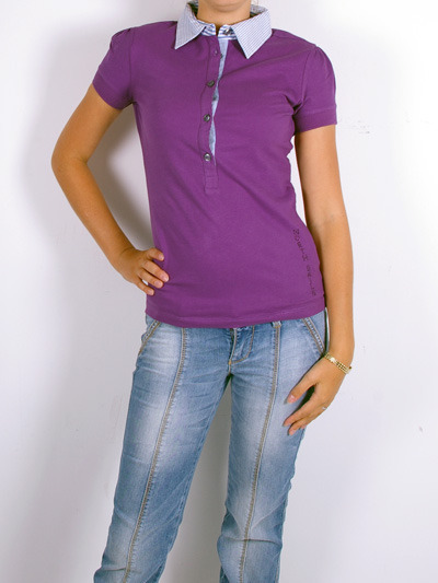 North Sails Polo Shirt for Women -PurpleMore photos & another fashion brands: bit.ly/JFovfP