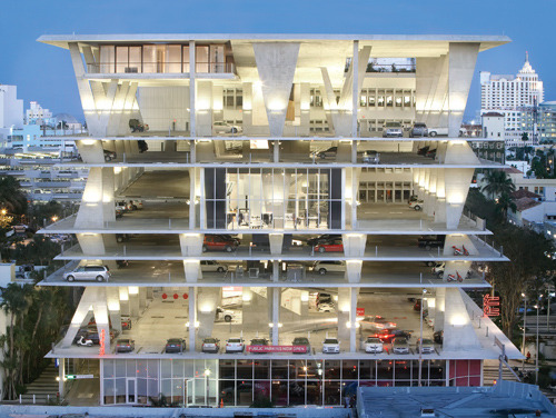 1111 Lincoln Road, Miami Beach Florida Herzog & de Meuron Architekten From Details, Technology, and Form