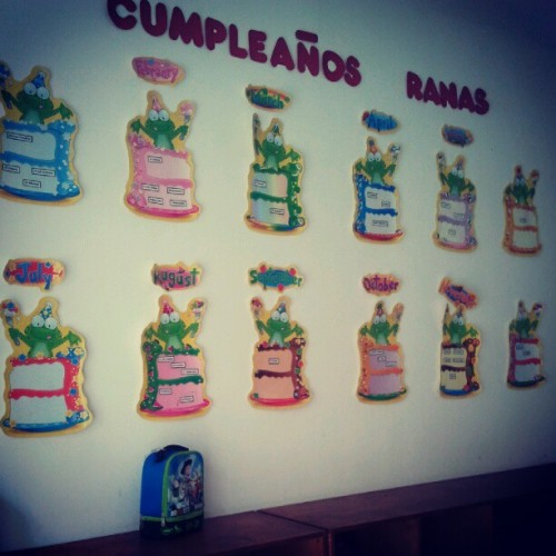 Cumple de Las Ranas (Taken with Instagram)