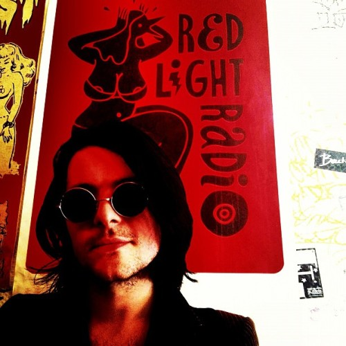Just finished a wicked session taking over Red Light Radio in Amsterdam x.  (Taken with Instagram)