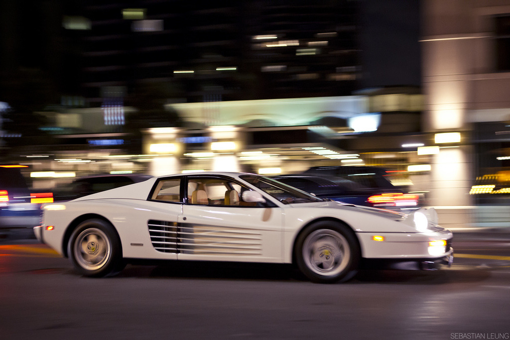 automotivated:  Testarossa. (by Sebastian Leung)