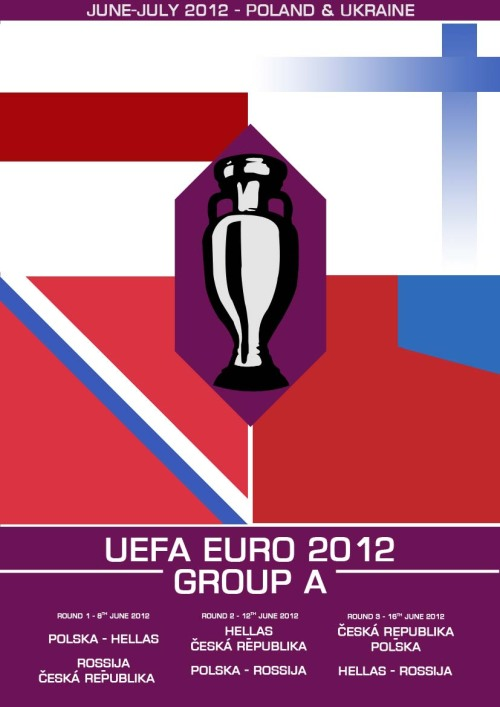 My Euro 2012 Group A print