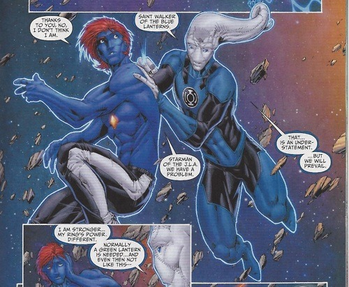 Awesome Gay Comic Book Characters (#7)  Mikaal Tomas/Michael Thomas | Starman (3)  Boyfriend: Tony (surname unknown)   Native of Talok III | Flight and energy projection from his sonic crystal, Invulnerability    Justice League of America   First Appearance: 1st Issue Special #12 (1976) / Expanded on by James Robinson