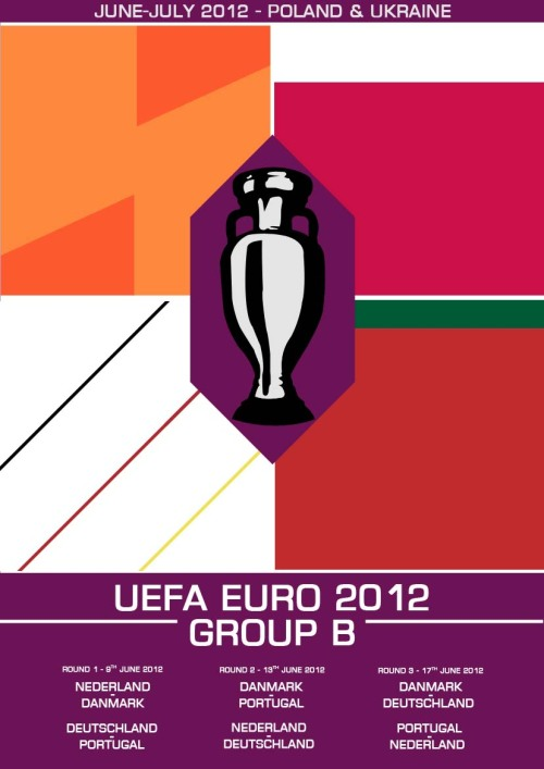 My Euro 2012 Group B print