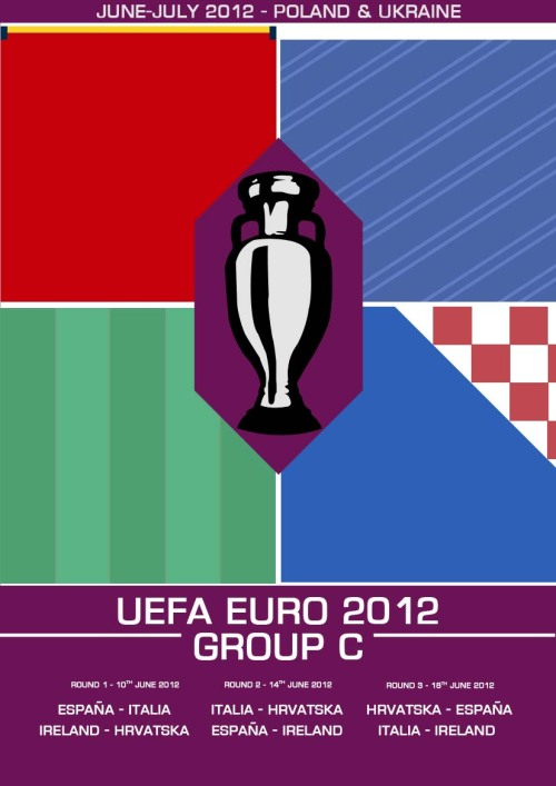My Euro 2012 Group C print