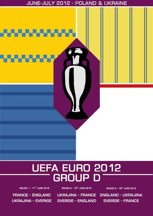 My Euro 2012 Group D print