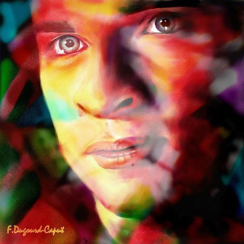 fan art Tom welling thanks Françoise Dugourd- Caput