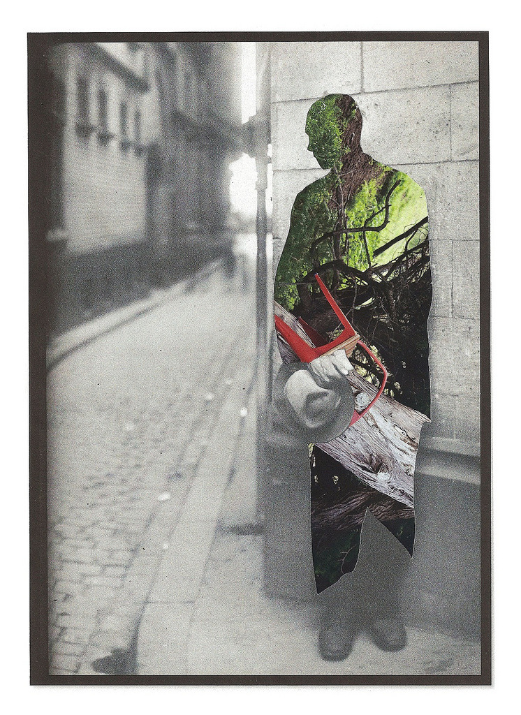 red-lipstick:  Lynn Skordal - Homeless, 2012                                   Collage I love ALL her work. Incredible