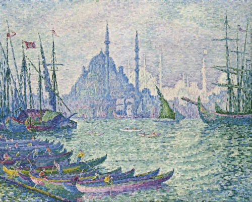 Paul Signac (1863-1935)La Corne d'Or, les minarets Impressionist and Modern Evening Sale