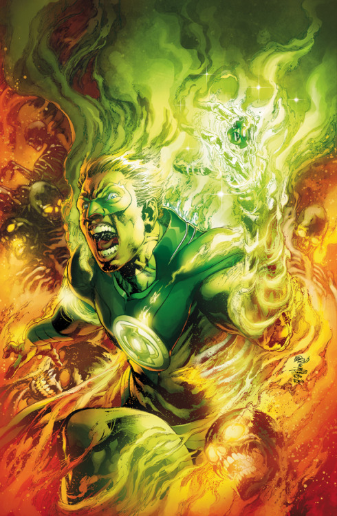 Awesome Gay Comic Book Characters (#8) Alan Scott | Green Lantern (of Earth 2) Boyfriend: Samuel (surname unknown — haven't read the issue yet) Superhuman | Possesses the Starheart, from which he derives his powers through his own willpower and imagination, Flight, Solid light constructs, Mystical tracking, Longevity; Powers of a magical nature Justice Society of America (previously) First Appearance: Earth 2 #1 (2012) by James Robinson & Nicola Scott  / Original first appearance: All-American Comics #16 (1940) by Bill Finger & Martin Nodell