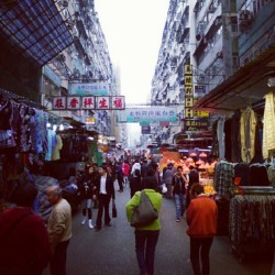 #HongKong #kowloon #market #street #shops (Taken with Instagram)