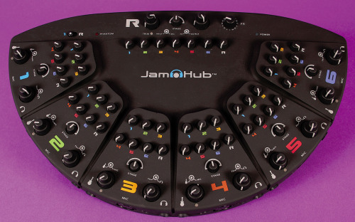 "JamHub for rehearsals: I got tired of the volume war at band practice and thought, ""Hey, let's practice with headphones instead"".  Seemed like a reasonable idea.  So, about a year ago I dropped a decent amount of cash to buy the JamHub.  It was designed specifically for my issue.  Sadly, it hasn't been used even once at any of our rehearsals.  Why?  It's not that it's a bad product.  It's just that by the time every band member has traveled to the rehearsal spot, hauled their gear into the space, and set up their equipment no one wants to spend another five to ten minutes adjusting the settings of their headphone mix.  I suppose the JamHub would be a worthwhile product if you planned on practicing in the same space every time but that's not the case with my band.  Plus, the JamHub is better designed to be used with electronic drum kits, not a live kit like my drummer uses.  Photo source: soundonsound.com"
