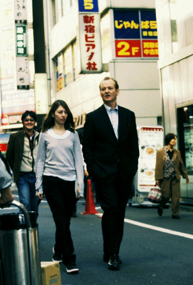 On the set of Lost in Translation