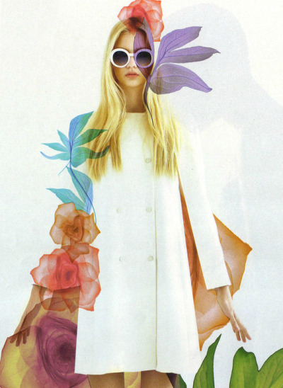 virare:  Nastya Kusakina by Egor Vasilyev for Interview Russia May 2012