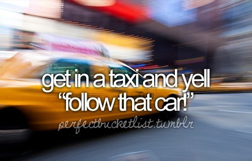 Perfect Bucket List <3