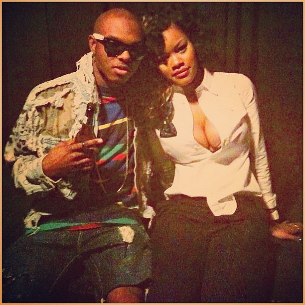 #TBT @teyanataylor and I (Taken with Instagram)
