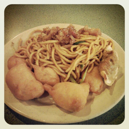 It's okay to cheat my diet once in a while right? (Taken with Instagram)